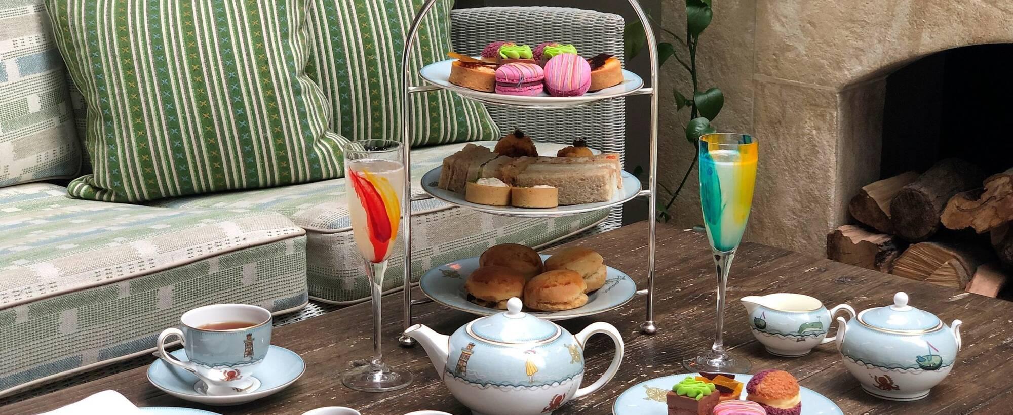 1 Art of London Afternoon Tea at Ham Yard Hotel