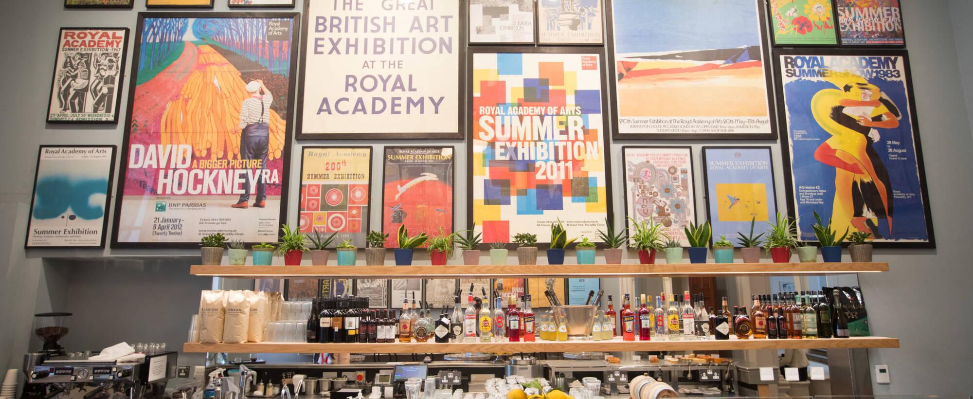 Poster bar David Parry Royal Academy of Arts