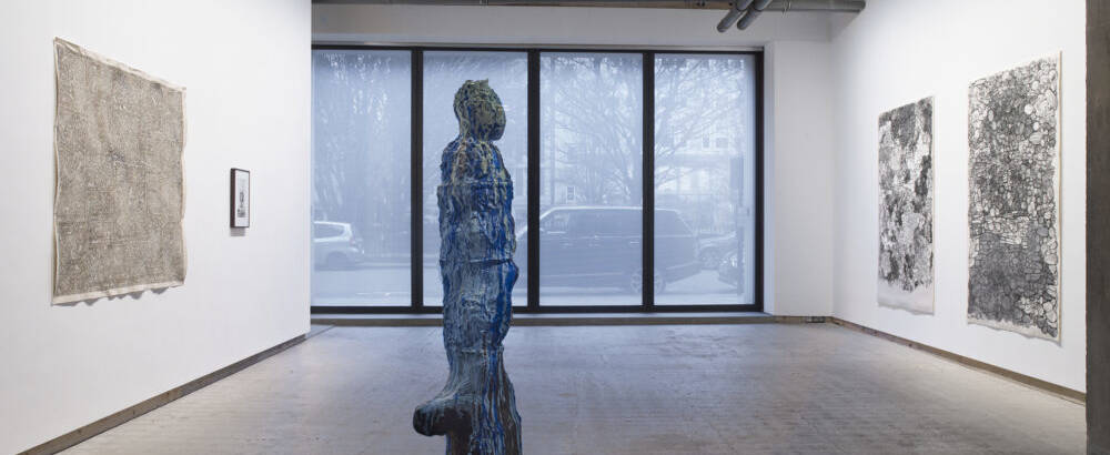 Gauri Gill James Nelson Daniel Silver Rajesh Vangad in Contemporary Excavations Image courtesy Frith Street Gallery