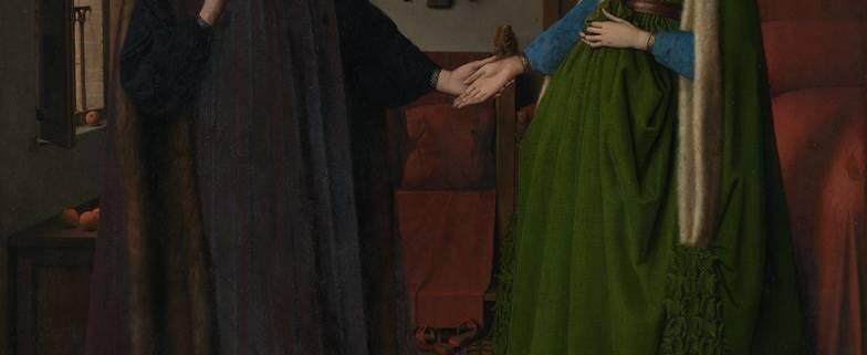 Image Jan van Eyck The Arnolfini Portrait 1434