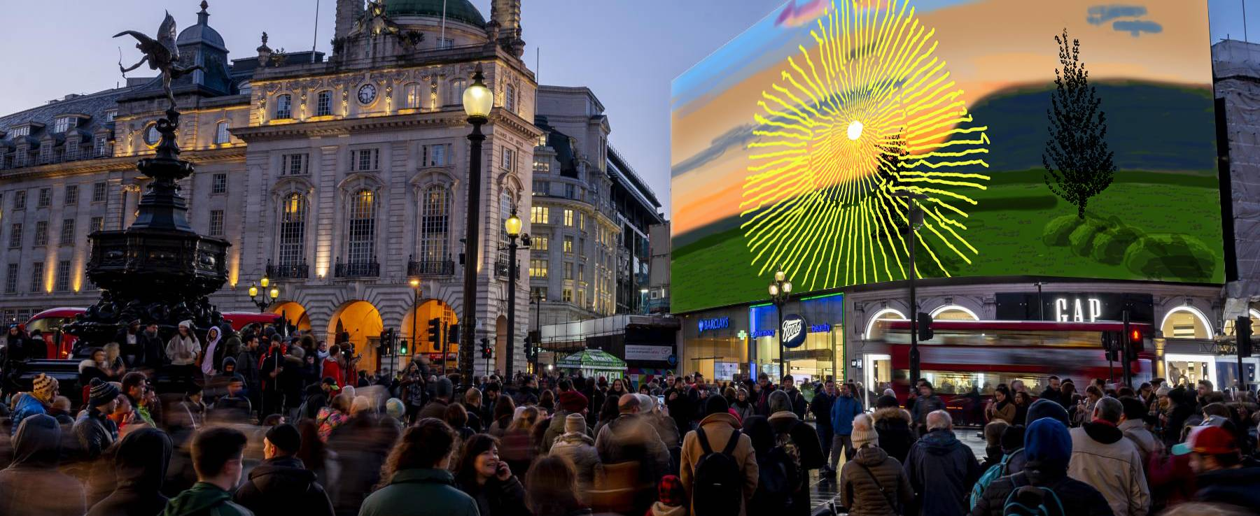 CIRCA Piccadilly Lights London Courtesy of the artist 1